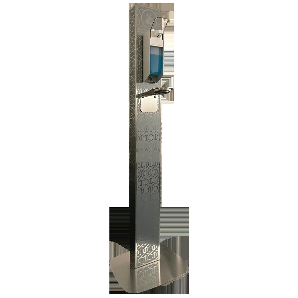 Design Desinfektionsspender EURO 1450 Ice Grey